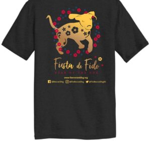 Fiesta De Fido Men's Tee Black