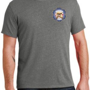 Fiesta De Fido Men's Tee Gray