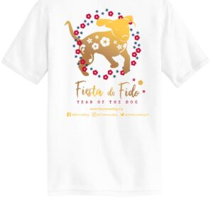 Fiesta De Fido Men's Tee White