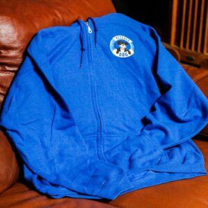 Women's Blue Zip Up Hoodies